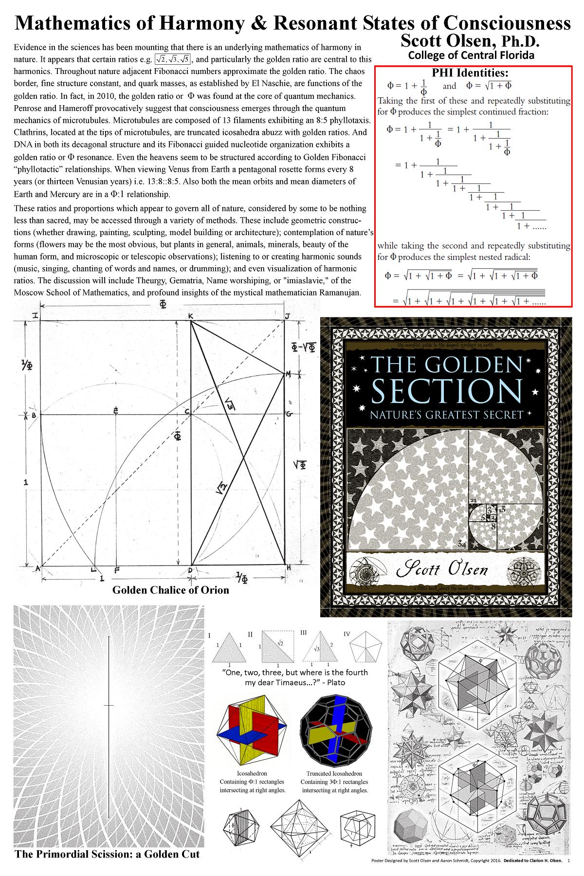 Claregate Metaphysics Group :: Mathematics of Harmony